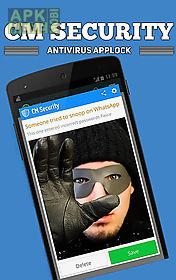 cm security: antivirus applock