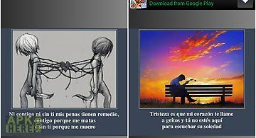 Imagenes con frases tristes