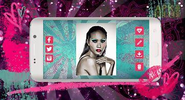 Makeup photo montage