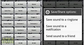 Pocket full of arms:soundboard