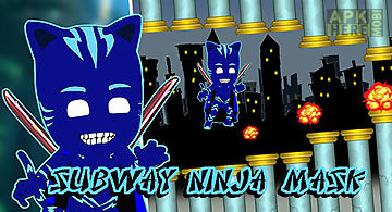 Subway ninja mask game