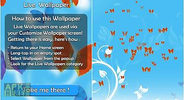 Butterflies live 3d wallpaper  L..