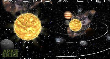 Solar system 3d Live Wallpaper