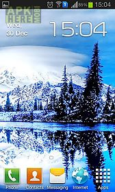 winter and snow live wallpaper