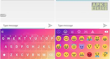 Emoji keyboard - dream cloud