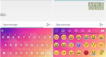 Emoji keyboard - dream cloud