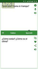 italian - spanish translator