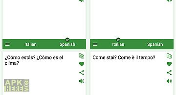 Italian - spanish translator