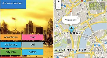 london offline map guide hotel