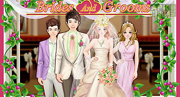 Bride and groom wedding games