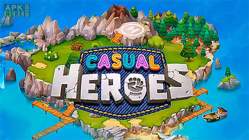 casual heroes: turn-based strategy