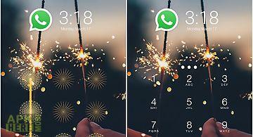Cm applock theme sparkle