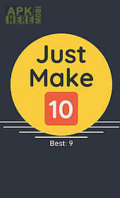 just make 10! combine and grow