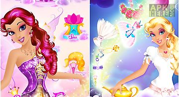 Princess fantasy spa salon