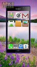 transparent screen 3d launcher