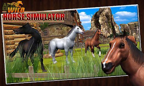 wild horse simulator 3d