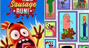 Run, sausage, run!