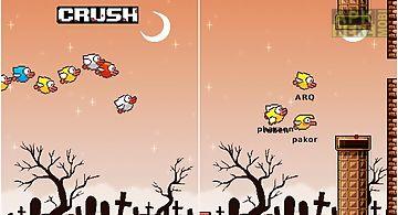 Flapping crush: halloween bird