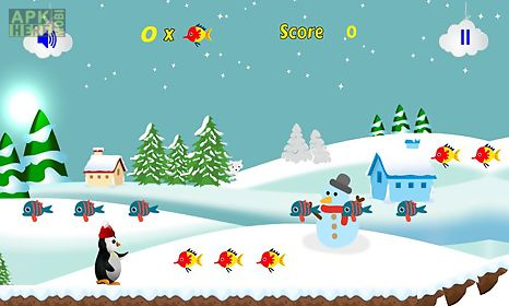 penguin run 2d