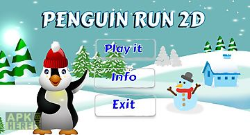 Penguin run 2d