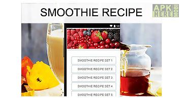 Smoothie recipes food