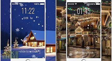 Christmas live lock screen pro