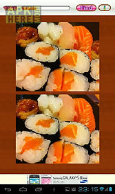 find differences japanese food