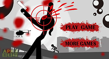 Stickman shooting-battle of terr..